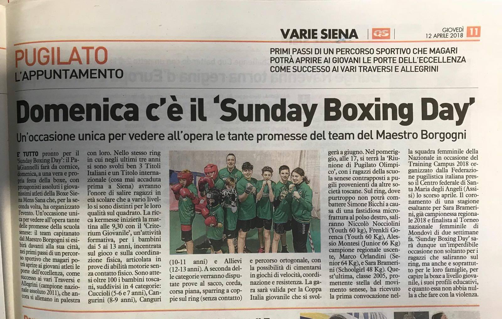 La Nazione 12/04/2018