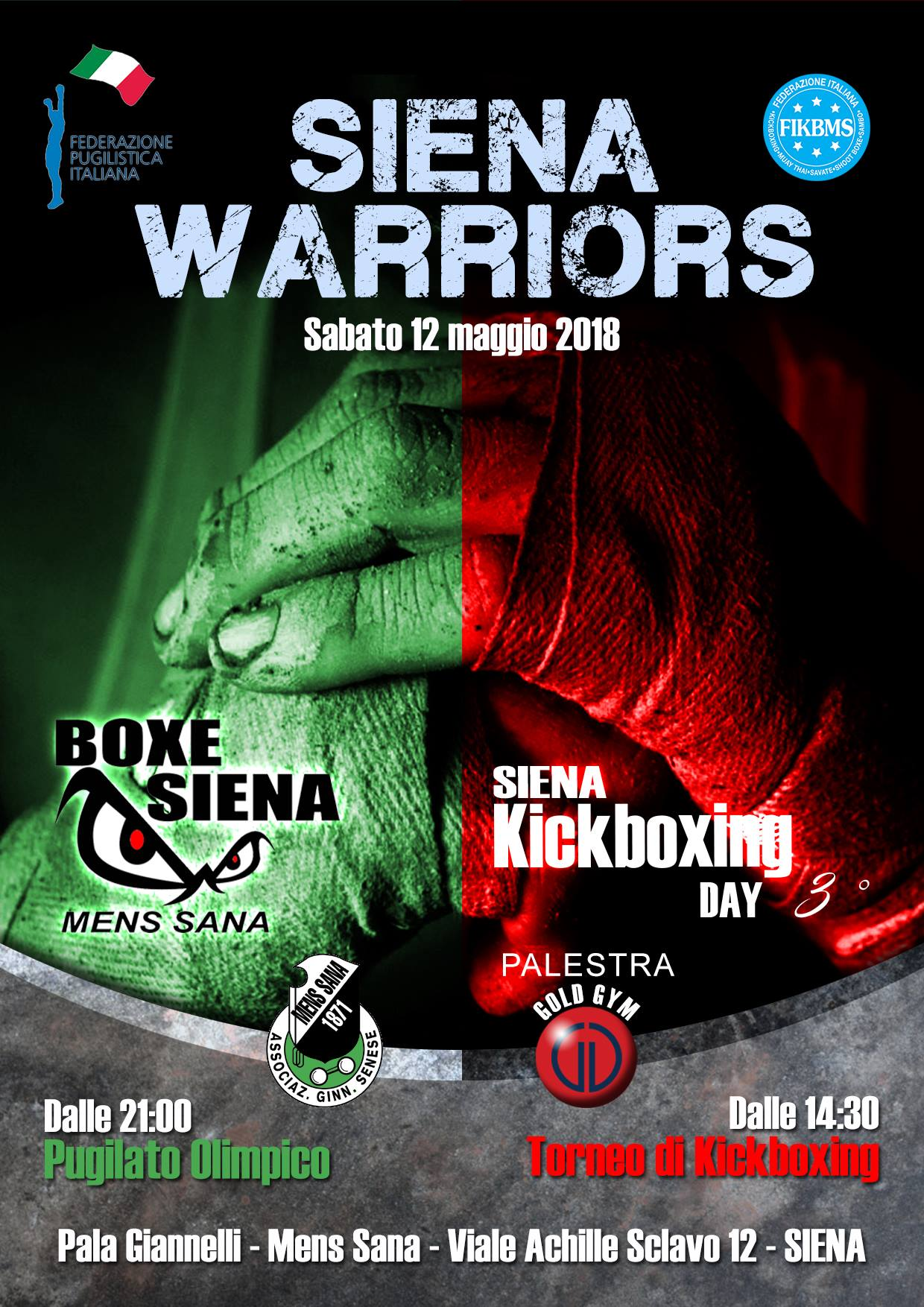 Siena Warriors 2018