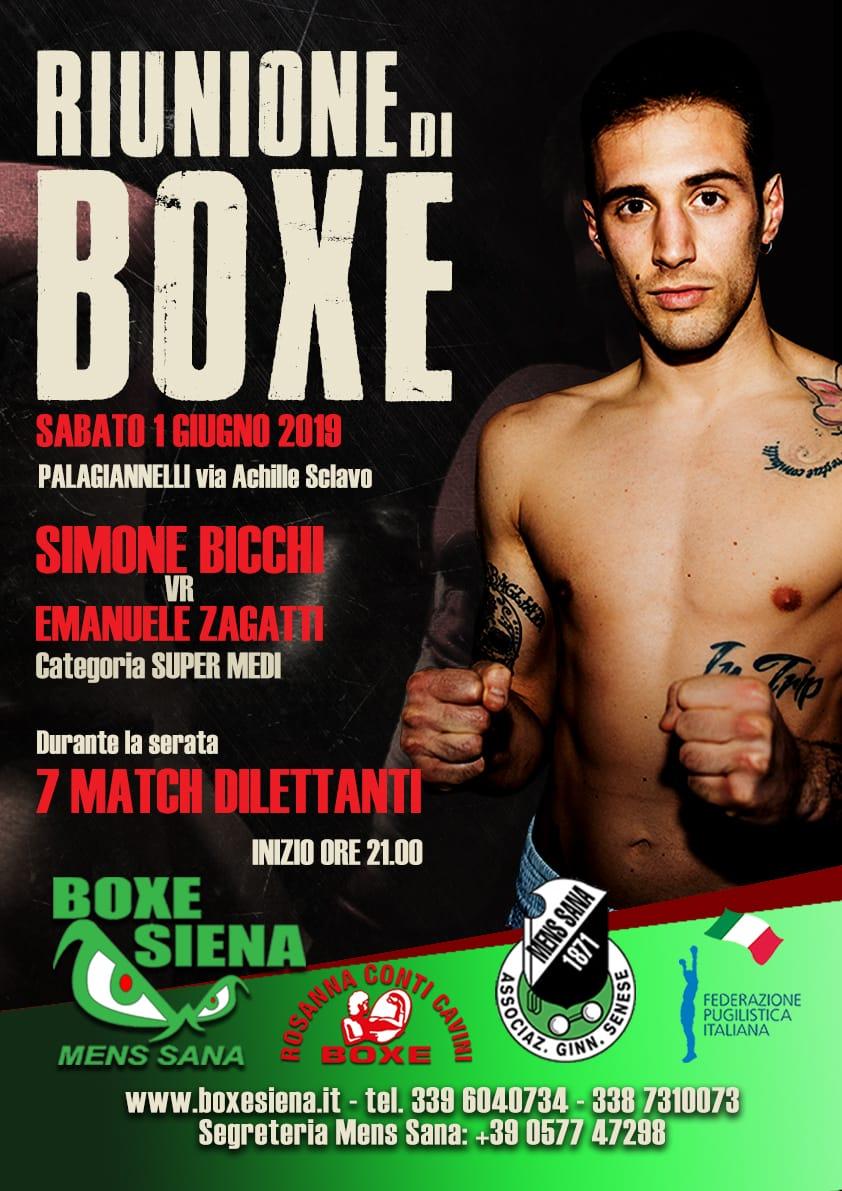 RIUNIONE DI BOXE 01/06/2019