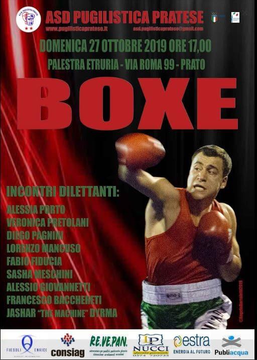 RIUNIONE BOXE PRATO 27/10/19