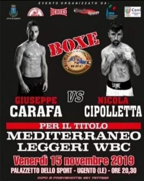 Titolo Mediterraneo Leggeri WBC