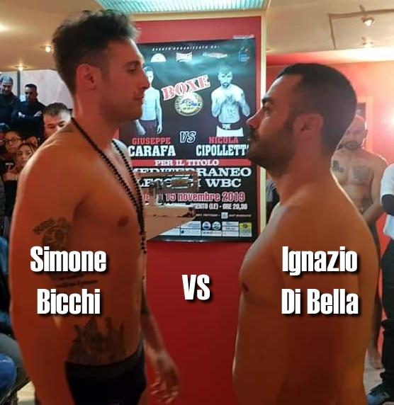 Simone Bicchi VS Ignazio Di Bella