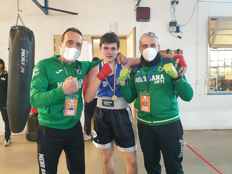 Lapo Ricci campione toscano 70kg schoolboy