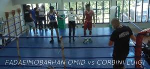 Corbini Luigi VS Fadaeimobarhan Omid